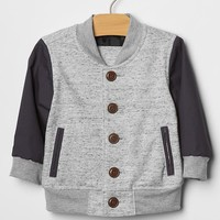Gap Baby Colorblock Knit Bomber Jacket