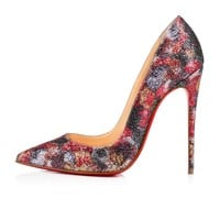 So Kate 120 Multi Glitter - Women Shoes - Christian Louboutin