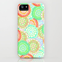 Pastel Pattern Frenzy iPhone & iPod Case by Tangerine-Tane