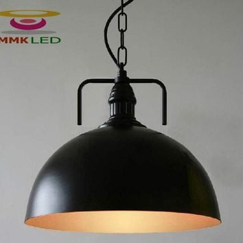 Hot Vintage Edison Industrial Ceiling Pendant Lamp Hanging Lighting Loft American Country Restaurant Bedroom Lamp Chandelier