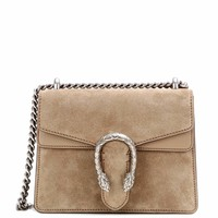 Dionysus Mini suede shoulder bag