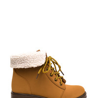 Shearling Babe Faux Nubuck Boots