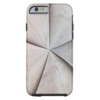 Wooden abstract pattern tough iPhone 6 case