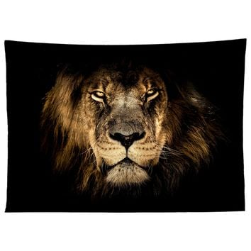 Strength Lion Tapestry