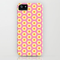 Colored Hexies iPhone & iPod Case by dani