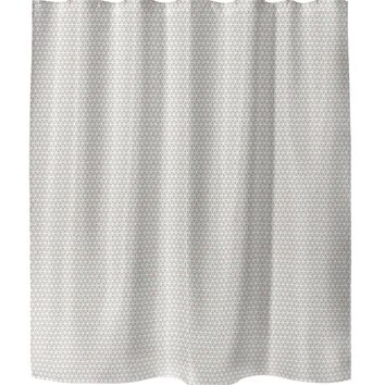 HONEYCOMB CORA Shower Curtain By Tiffany Wong