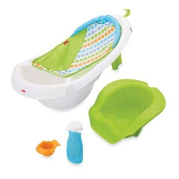 fisher price 4 in 1 sling 39 n seat tub from bed bath beyond. Black Bedroom Furniture Sets. Home Design Ideas