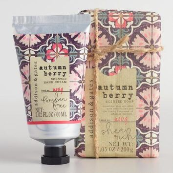 A&G Nomad Tile Autumn Berry Bath and Body Collection