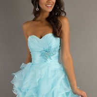 WowDresses — 2013 New Short Strapless Prom Dress