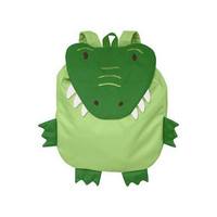 Green Sprouts Safari Backpack - Green Crocodile