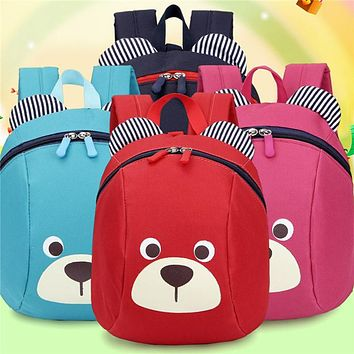 2018 Anti Lost Bag For Girls Boy Kids Children Strap Bag Baby Aged 1-3 Years Old Safety Canvas Harness Toddler Cartoon Backpack
