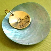 Be Genuine Pendant | Spiffing Jewelry