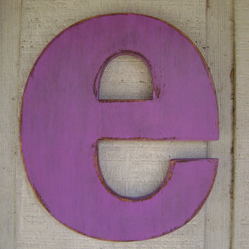rustic wood letter initials alphabet letters wall hanging decor
