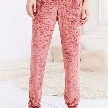 Out From Under Velvet Jogger Pant - Urban Outfitters