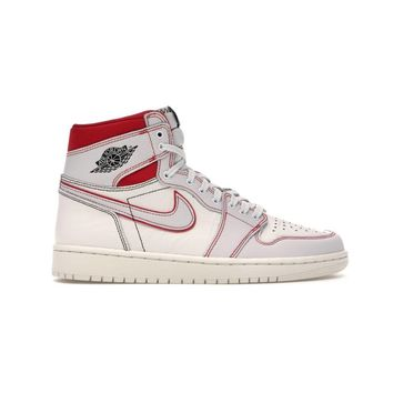 Air Jordan 1 Retro High OG Phantom Sail Gym Red Basketball Shoes