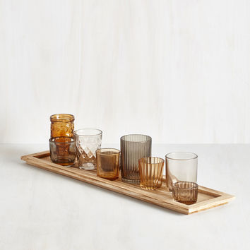 Ethereal Ambiance Votive Candle Holder Set in Amber | Mod Retro Vintage Decor Accessories | ModCloth.com
