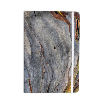"Susan Sanders ""Milky Wood"" Gray Brown Everything Notebook"
