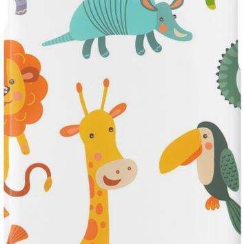 'Funny Collection Hand Drawing Animals' iPhone Case/Skin by cybermall