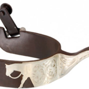 Saddles Tack Horse Supplies - ChickSaddlery.com Kelly Silver Star Pleasure Horse Spurs