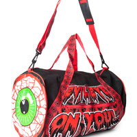 Kreepsville 666 Eyeball Barrel Bag Multi One