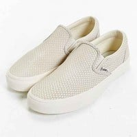 Vans Snake Leather Classic Slip-On Sneaker