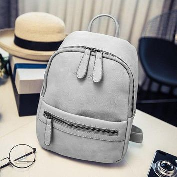 6163ff440991 University College Backpack 2018 Korean Fashionable Women Soft H