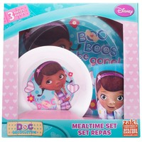 Disney Doc McStuffins Feeding Set by Zak Designs