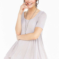 Ecote Stevie Flutter Tunic - Urban Outfitters