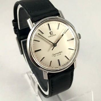 "Vintage men's wristwatch ""OMEGA SEAMASTER De VILLE "" Automatic. Made in Swiss, 100% authentic."