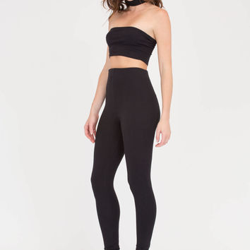 Fashion Duo Bandeau Top 'N Leggings Set GoJane.com