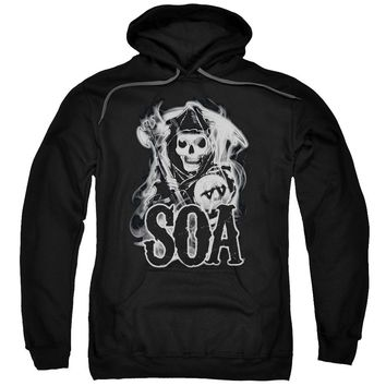 Sons Of Anarchy - Smoky Reaper Adult Pull Over Hoodie
