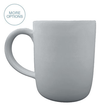 Matte Porcelain USA Made Mug- Large
