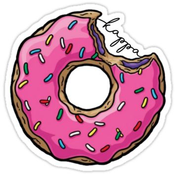 'KKG Donut' Sticker by angelaarmit