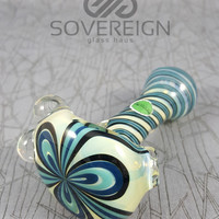 Spun Flower Hand Pipe