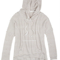 Stripe Kanga Pocket Sweater