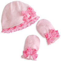 Disney Aurora Layette Hat and Mittens Set for Baby | Disney Store