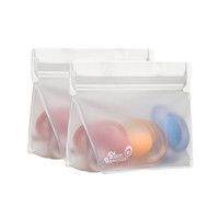 (re)zip Reusable Storage Bags - 1/2 cup - 2 pack
