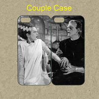 iphone 5c case,iphone 5c cases,iphone 5s case,iphone 5 case,iphone 4/4s case,google nexus 4/5 case--Frankenstein and Bride,in plastic.