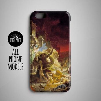 Pompeii Painting Iphone X Case Iphone