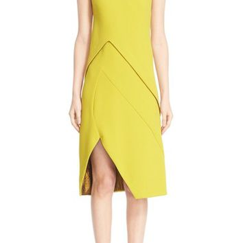 Narciso Rodriguez Sleeveless Crepe Dress | Nordstrom