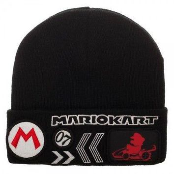 BioWorld - Nintendo Super Mario Kart Knit Winter Beanie Hat