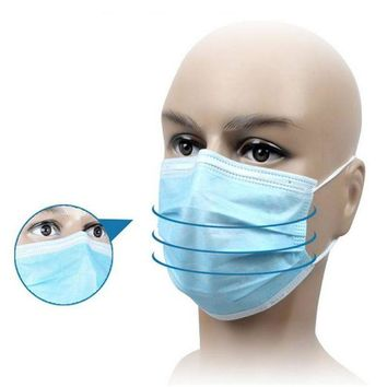 ONETOW 20 Pcs Disposable Anti-bacteria Dust Mask Respirator For Medical Dental Treatment And First Aid Kit Supplies