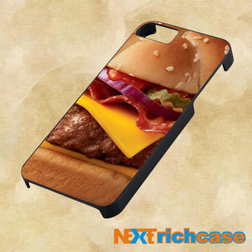 Burger AngusThird Pounder Deluxe New Design For iPhone, iPod, iPad and Samsung Galaxy Case