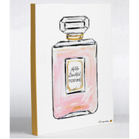 One Bella Casa Hello Beautiful Perfume by Timree Painting Print on Wrapped Canvas