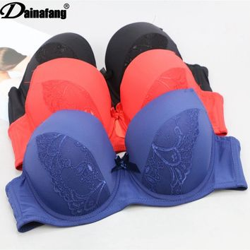 Large Size Cup Thin Adjustable Bra