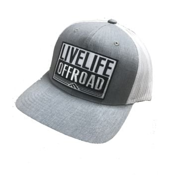 Live Life Off Road Fitted Trucker