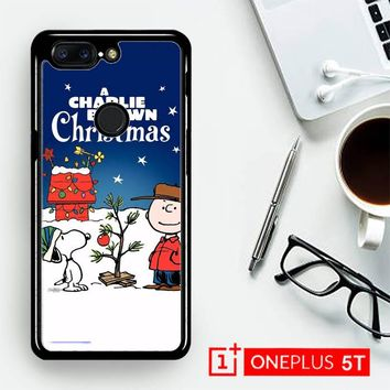 A Charlie Brown Peanuts Christmas Cartoon E0833  OnePLus 5T / One Plus 5T Case