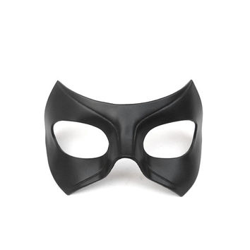 Black Canary Leather Mask Arrow Series Tv Show Laurel Lance Cosplay Super Hero Halloween Masquerade Carnival Superheroine Woman Comic Half