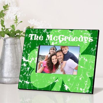 Irish Themed Picture Frame with Free Personalization