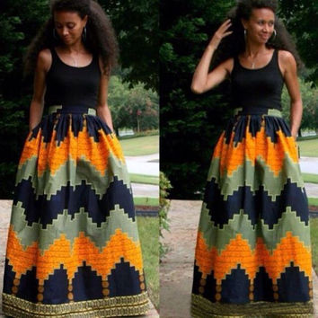 Sleeveless Maxi Skirt